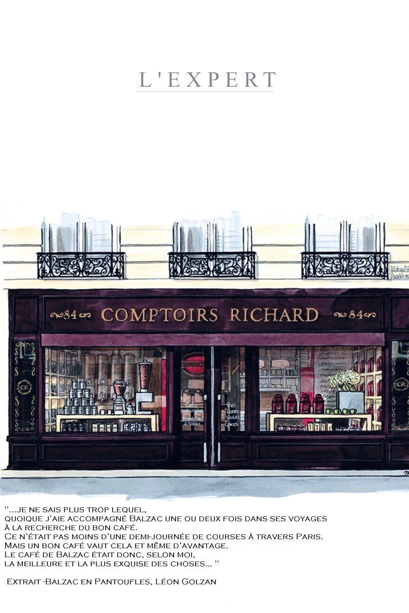 Les Comptoirs Richard Ou La Reference Du Cafe Precursoeurs